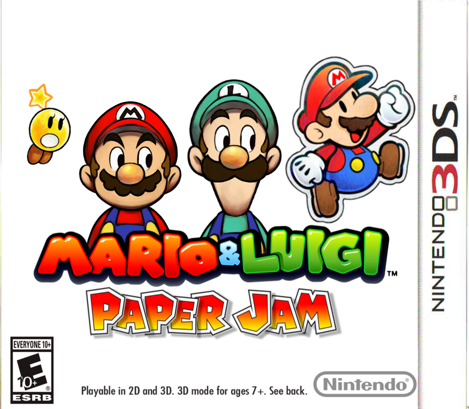 Mario And Luigi Paper Jam By Pm58790 On Deviantart