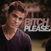 Stefan about Katherine icon by thekatherineb