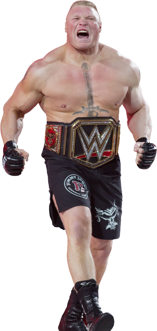 brock lesnar 2016 render hd by underlove editions by victorhbk on