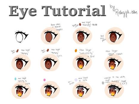 Eye Tutorial by rebezza