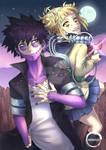 Dabi and Himiko Fanart (My Hero Academia)