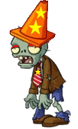 [FNAF PVZ Mashup] Rockstar Conehead Zombie by MCAboyan