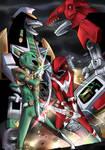 Green Ranger VS Red Ranger