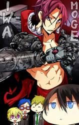 Rin Cyborg VS Iwa-Moge