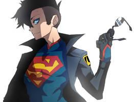 Superboy by SiruBoom