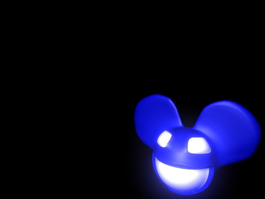 deadmau5 blue head wallpaper - photo #7
