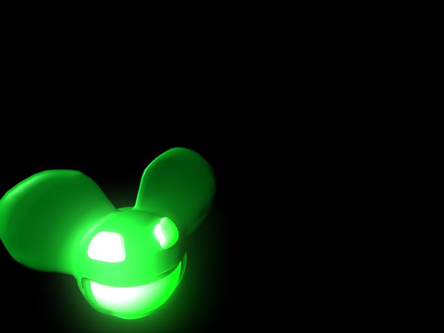 deadmau5 green wallpaper - photo #20