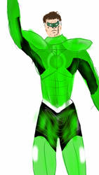 Hal Jordan as Parallax sketch by Spidernator9
