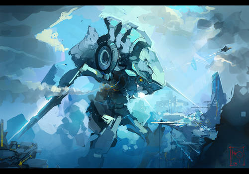 Blue Colossus