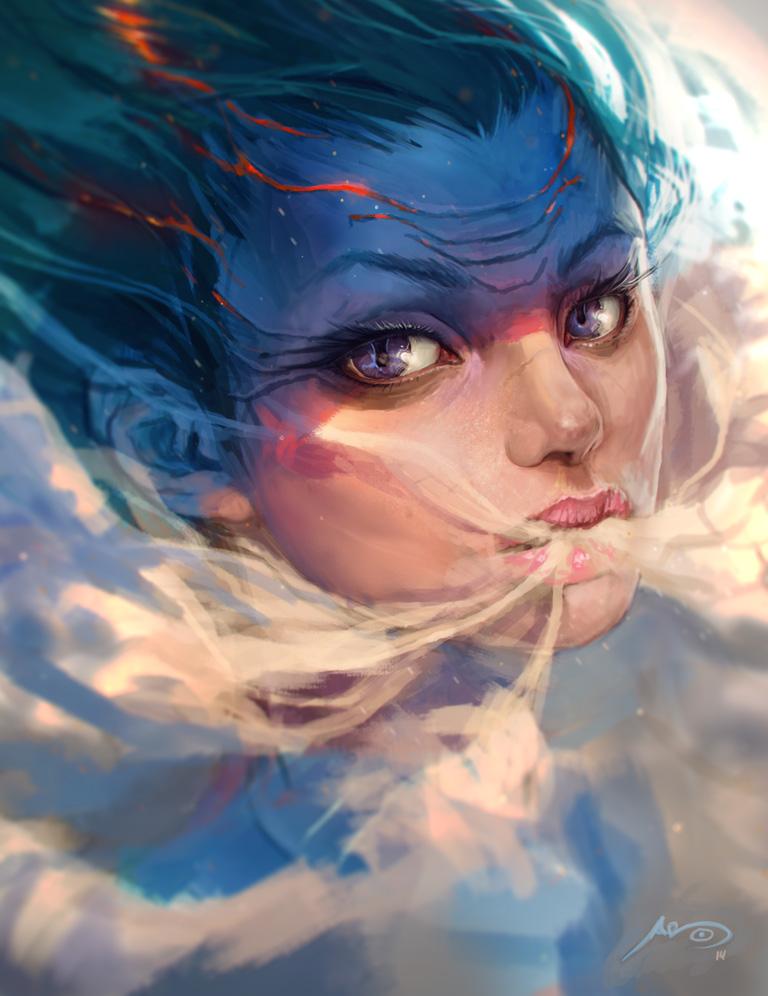 Dragon's Breath by Bluefley