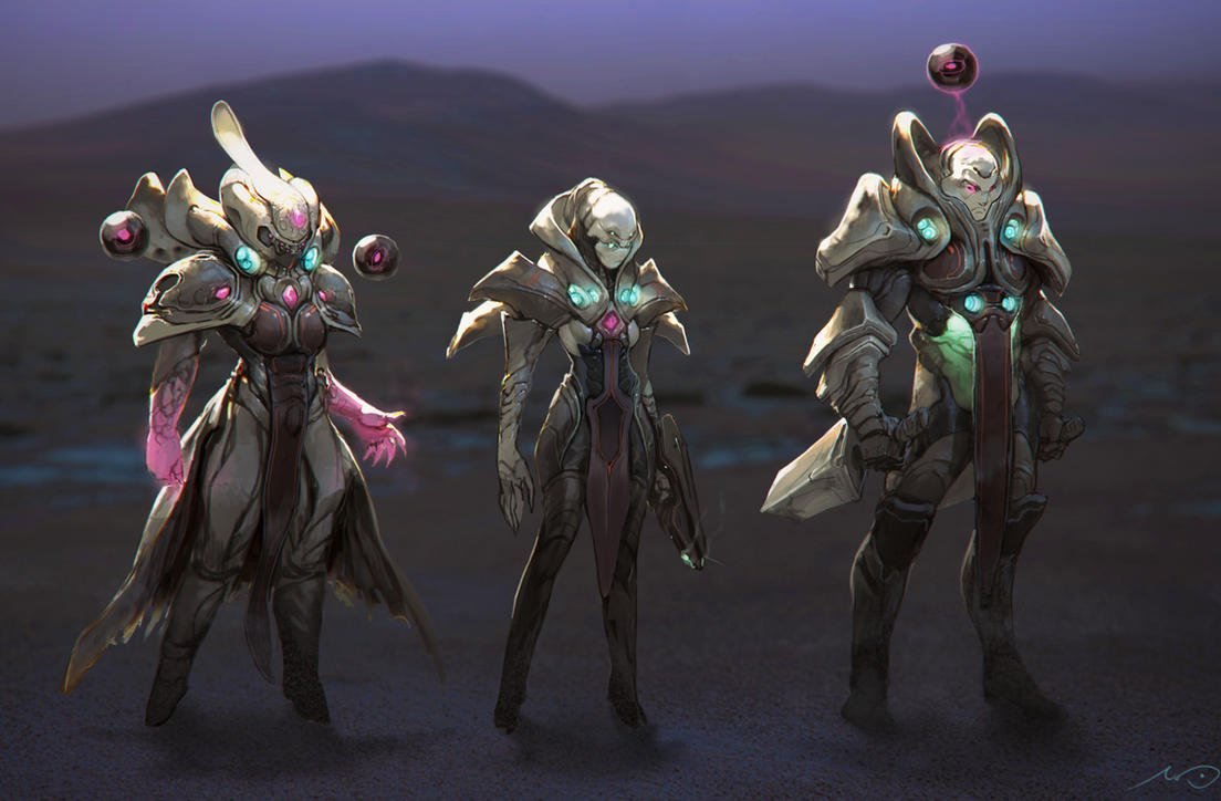 //Alien Raiders by Bluefley