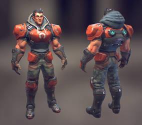 R.E.D. Guard by MarcBrunet