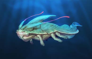 Alien Sea Creature