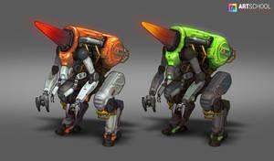 Mining Mech Design