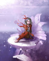 -Ice Flower- by MarcBrunet