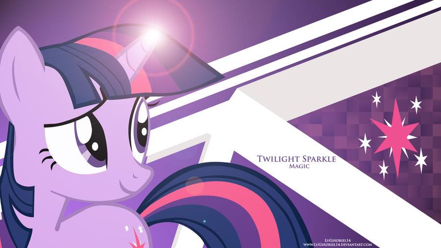 Twilight Sparkle Magic by LuGiAdriel14