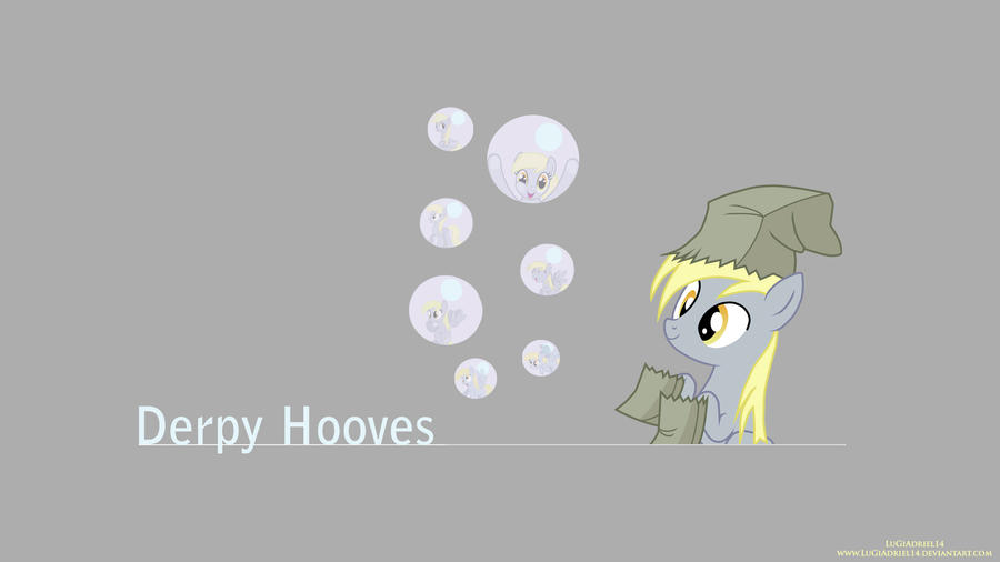 Derpy in Bubbles by LuGiAdriel14