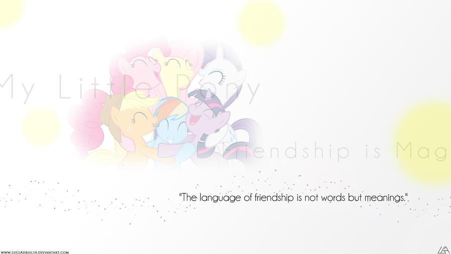 Language of Friendship by LuGiAdriel14