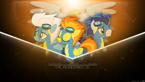 [COMISSION] Wonderbolts Wallpaper