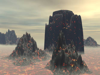 Volcano by Shinigami44