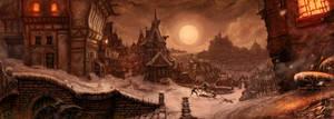Nightprowler 2 - Gamemaster's screen by Agalanthe