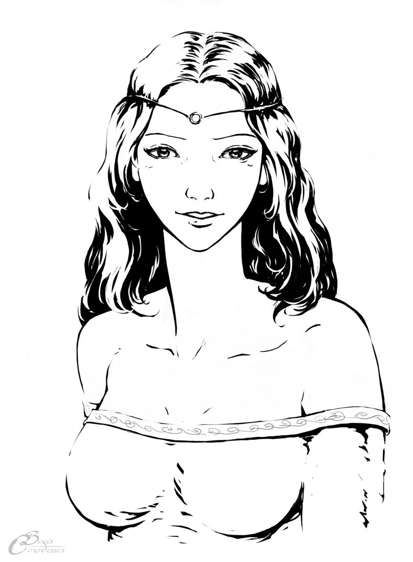 Lycia, portrait by Agalanthe