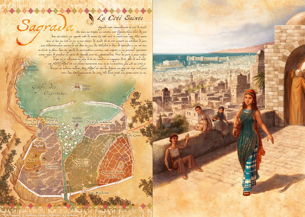 Najah Bat Nubib and Sagrada (map)