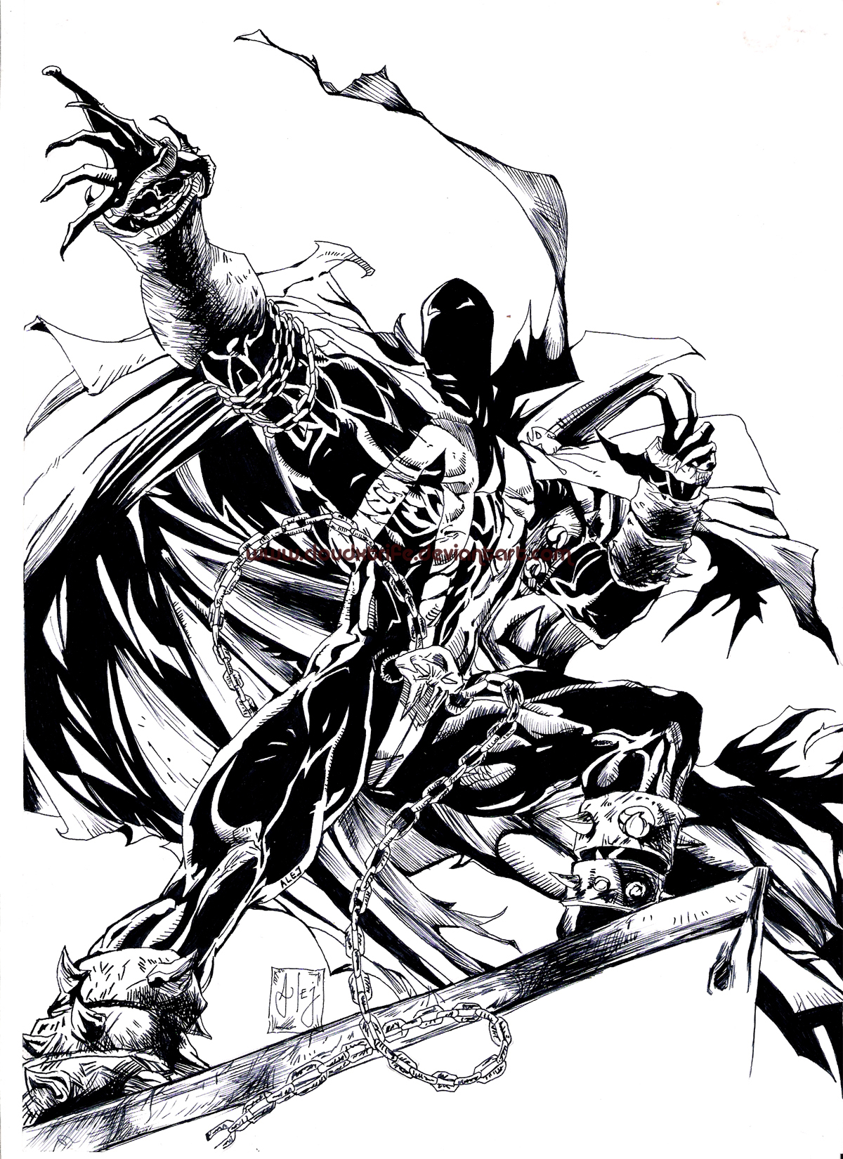Heroe Nocturno - Spawn by CloudXtrife on DeviantArt