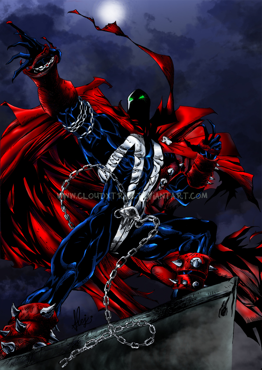 Heroe Nocturno - Spawn by CloudXtrife