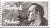 Sherlock Holmes Stamp by bcbdrums