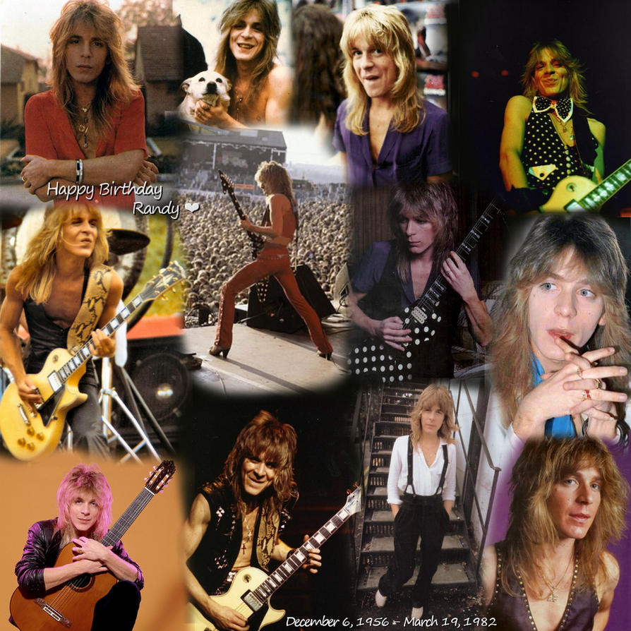 Happy Birthday Randy Rhoads by NicoleN22