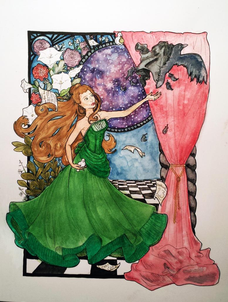 Celia Bowen, Illusionist Extraordinaire(In Colour) by artiste-reveur