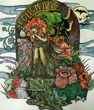 Poison Ivy (Color) by artiste-reveur