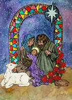 Nativity  (colour version) by artiste-reveur