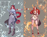 outfits for my friend by nitrogenia7