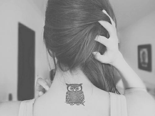 Owl tattoo by yaprakduru