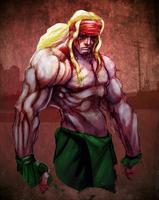 Street Fighter Alex by ZachSatherArt