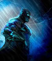 Batmanday by ZachSatherArt