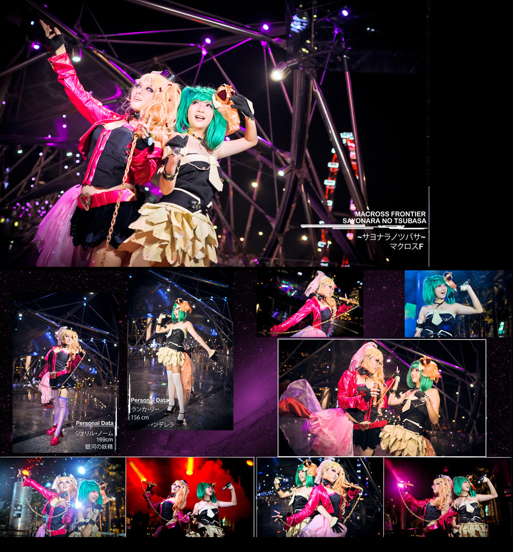 Macross Frontier : The end of triangle by thebakasaru