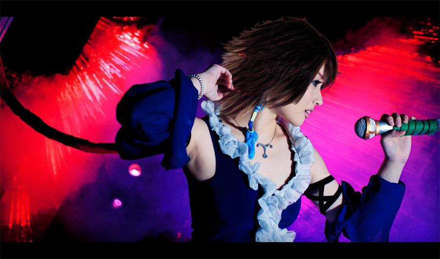 Final Fantasy X-2 Yuna : I can hear you by thebakasaru