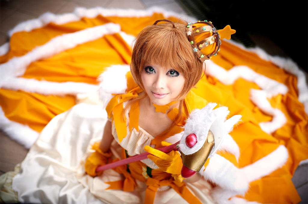 Card Captor Sakura : Golden Princess by thebakasaru