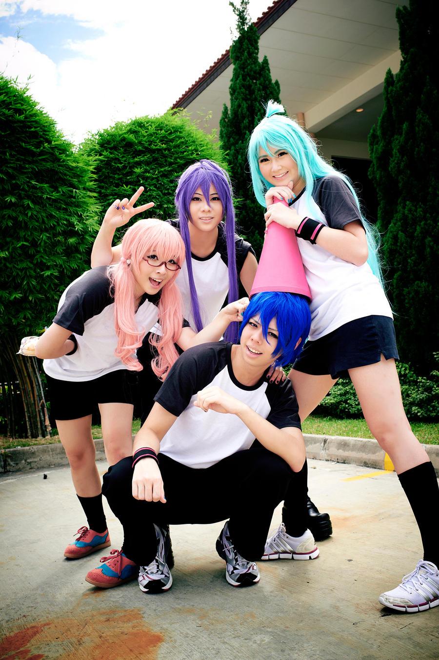 Vocaloid : Race Team by thebakasaru