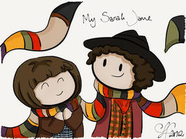 Sarah and the Doctor by gnasler