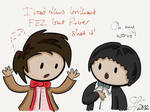Second and Eleventh Doctor Share Fashion Tips