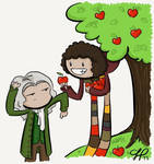 The Doctor and Isaac Newton