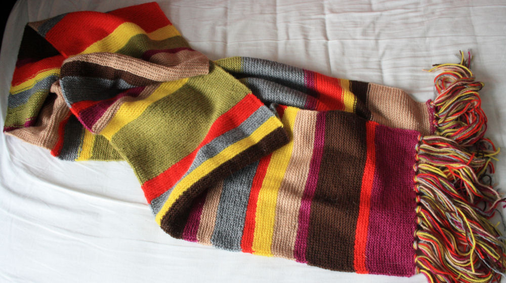 Knitting Pattern Fourth Doctor Scarf : Fourth Doctor Scarf by gnasler on DeviantArt