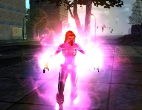Electricutrix Wielding Strange Energies