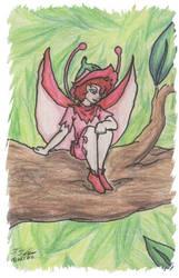 Tinkerbell In Tree by Jaylyn