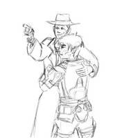 Hug - Sketch