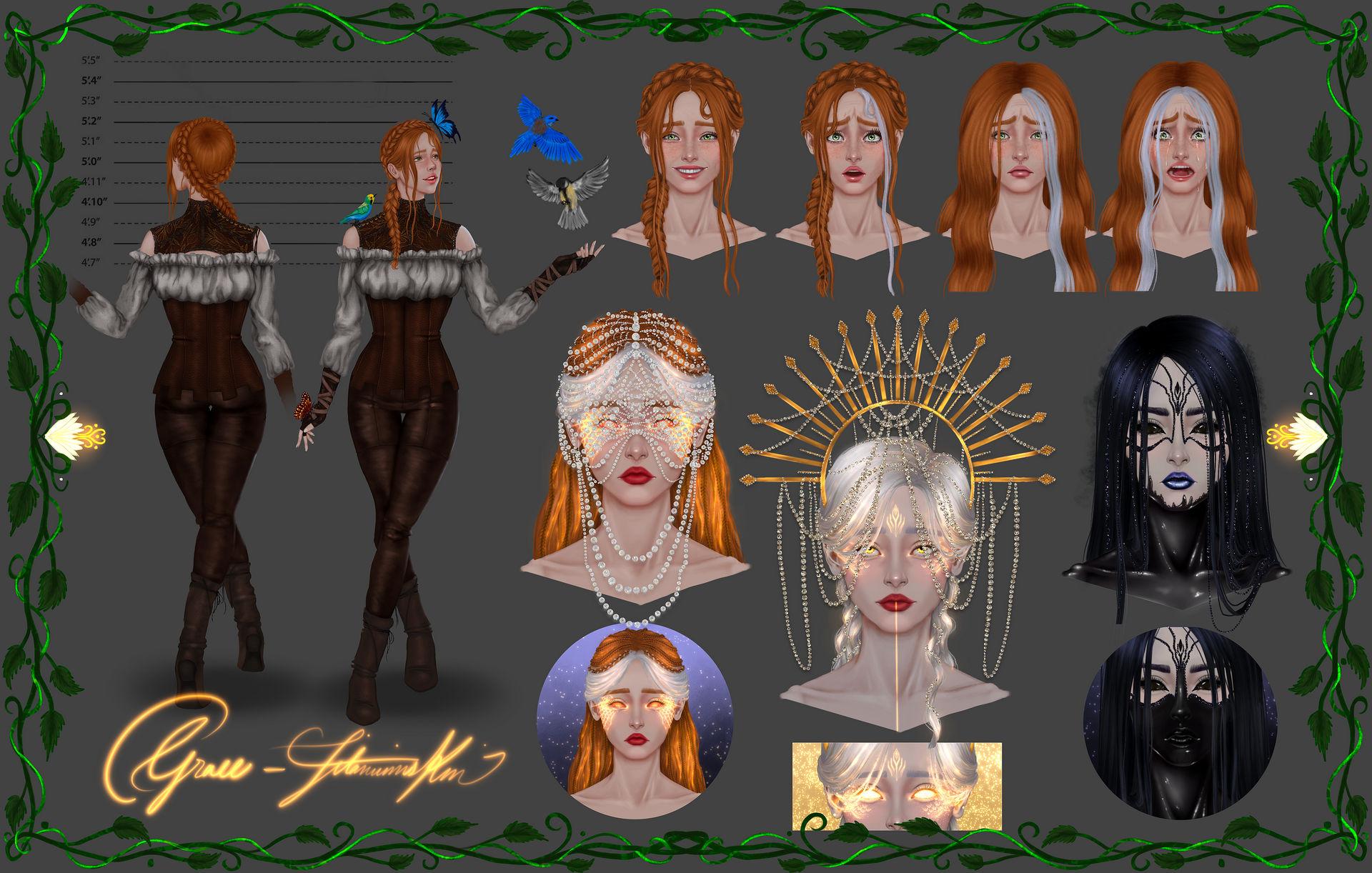 Grace - Character Sheet